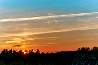 201300721-Down in Halton Hills - Sunset and a corn field